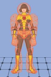 Armor - X-Men by MetalHarbinger084