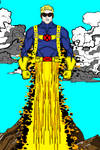 Cannonball - X-Men by MetalHarbinger084