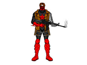 Red Soldier (Red Hood + Winter Soldier)