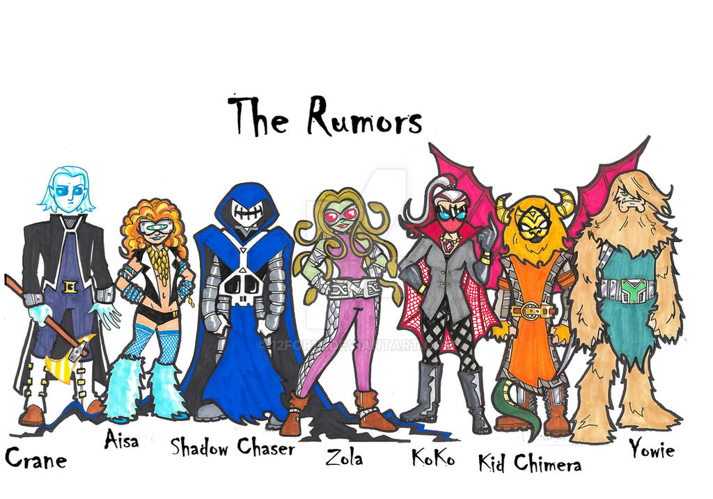 Rumors by 12for12