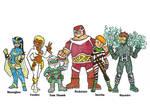 Squad Redesigns 3