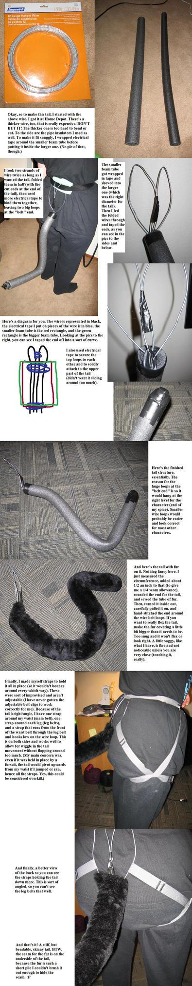 Skinny Wire Tail Tutorial by killpurakat