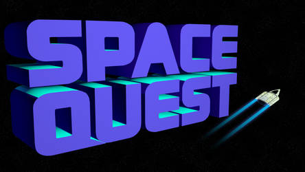Space Quest 2 4k (Ship/Trails)