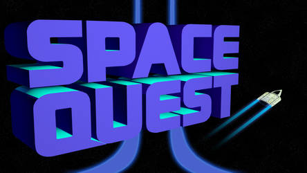 Space Quest 2 4k (Ship/Trails/II Streaks)