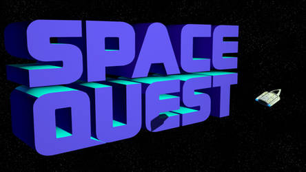Space Quest 2 1080p (Ship/Shadow)