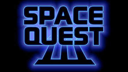Space Quest III Logo 1080p (Box Font 1/Black)