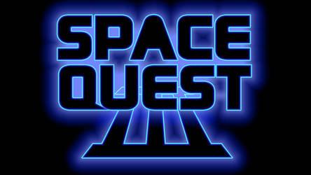 Space Quest III Logo 1440p (Box Font 2/Black)