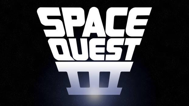 Space Quest III Manual Logo 4k