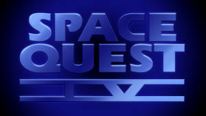 Space Quest IV Logo 4k (CD Version Font)