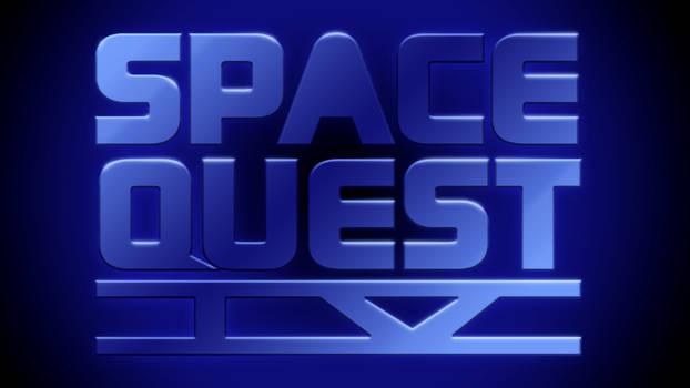 Space Quest IV Logo 4k (Classic Font)