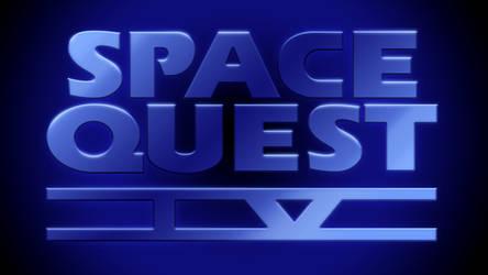 Space Quest IV Logo 1440p (CD Version Font)