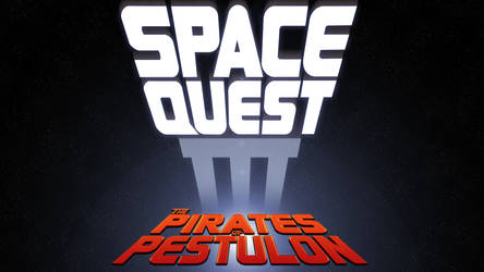 Space Quest III Box Logo 4k (Updated)