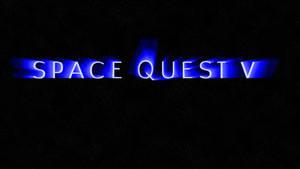 Space Quest V Logo (no comet) 4k Wallpaper