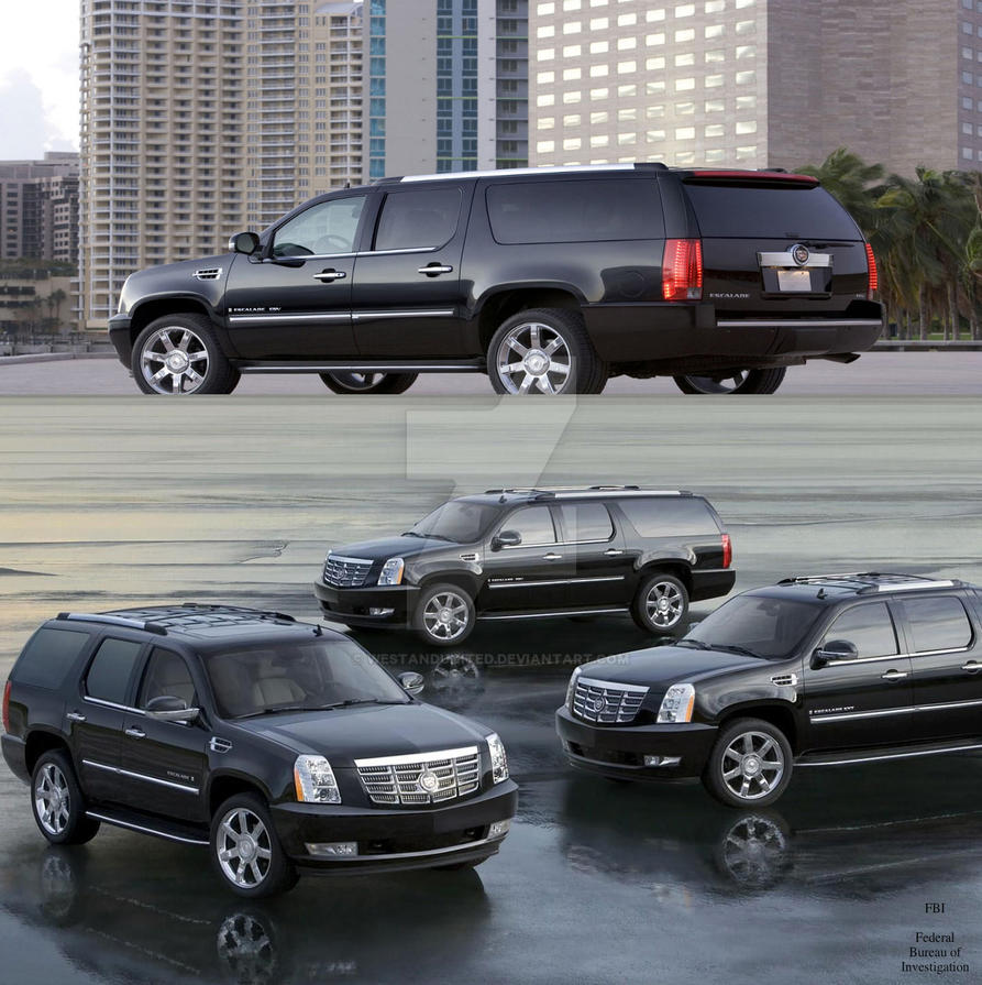 FBI: The Cadillac Fleet By WeStandUnited On DeviantArt