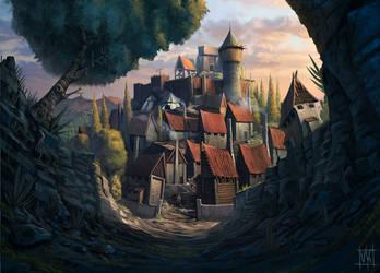 Village by volkanyenen