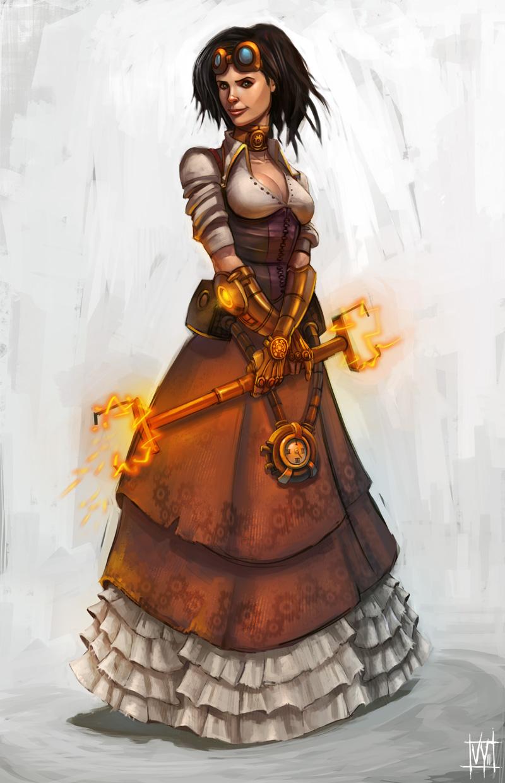 Steampunk Girl by volkanyenen on DeviantArt
