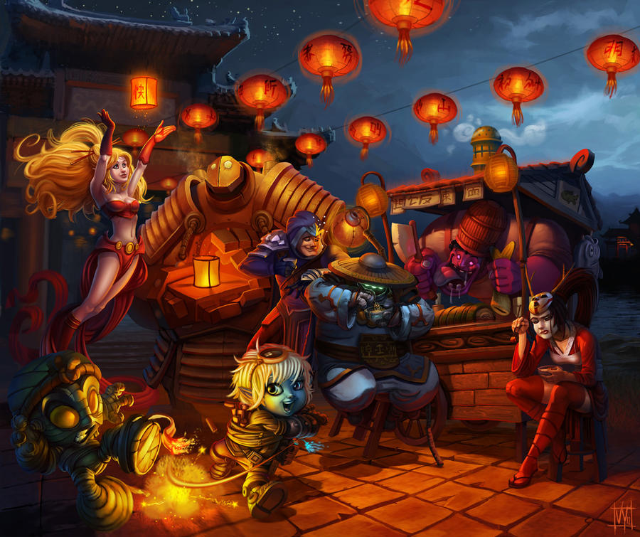 LoL: Lunar Revel Contest by volkanyenen