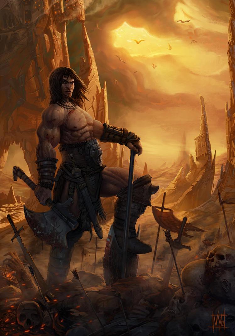 Conan by volkanyenen