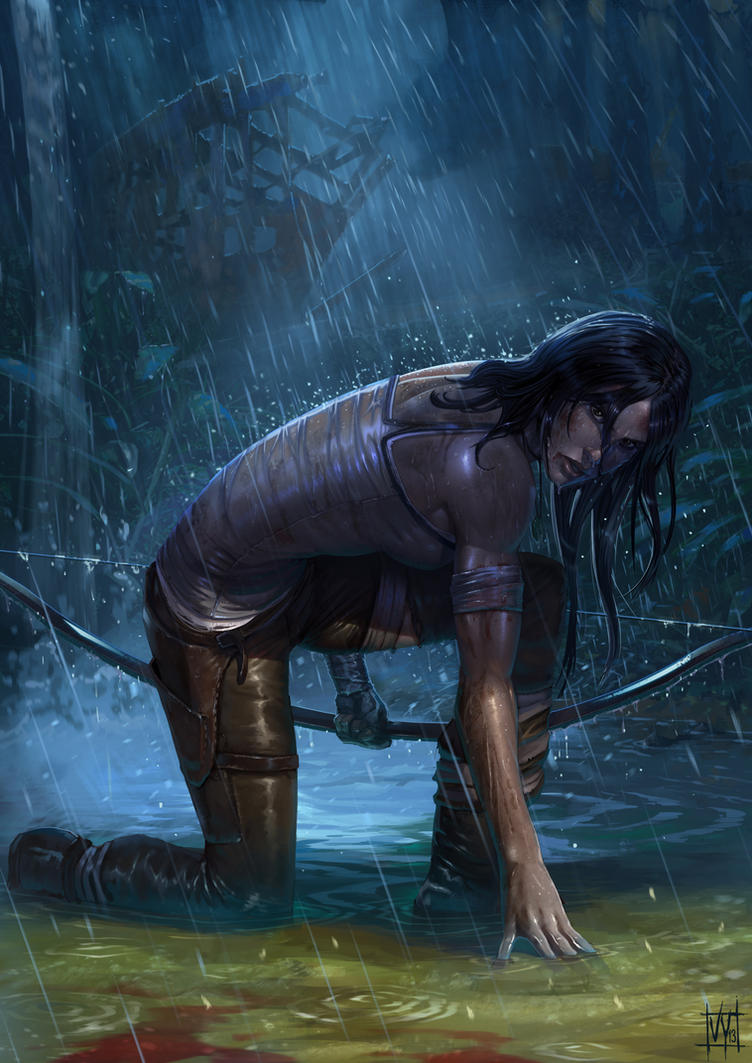 Tomb Raider by volkanyenen