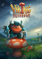 Viking Mushroom by volkanyenen