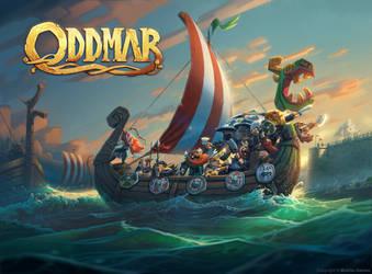 Oddmar Game illustration by volkanyenen