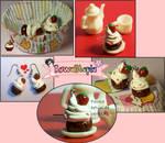 Ichigo cupcake