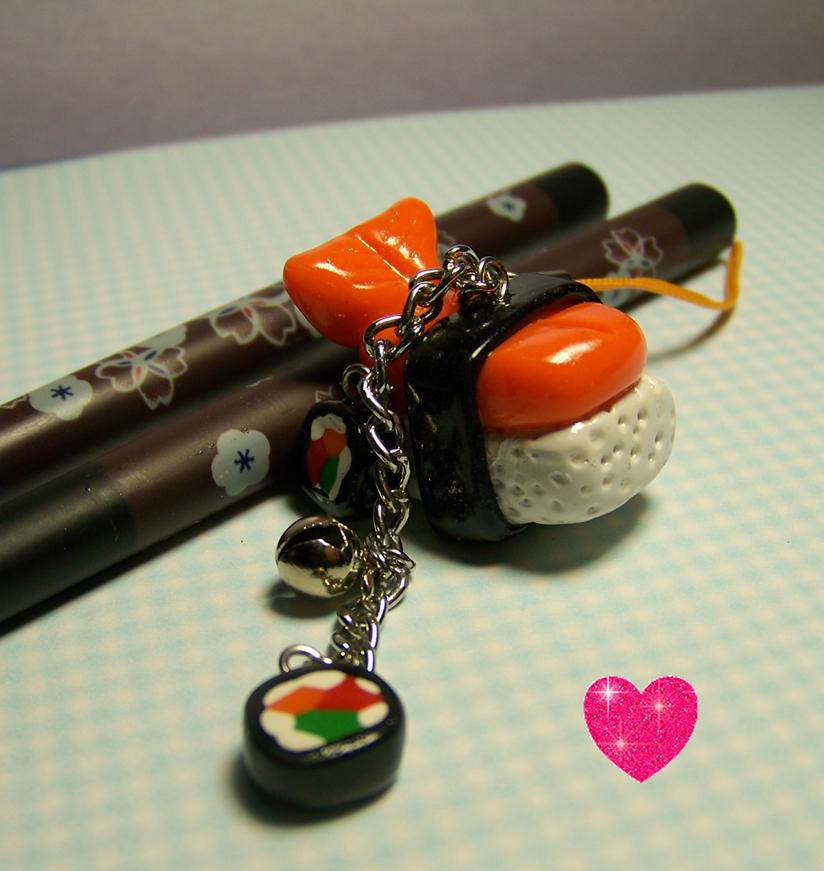 Love ebi sushi by Sarudanya