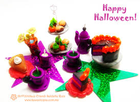 Halloween tea party by Sarudanya