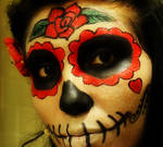 Sugar skull by Sarudanya