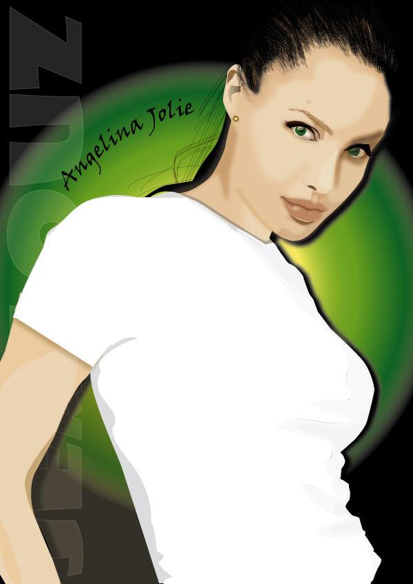 Model Series : Angeline Jolie by jealouz