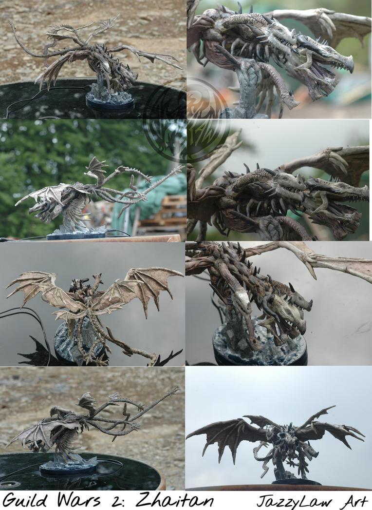 Guild Wars 2: Zhaitan by Jassylaw