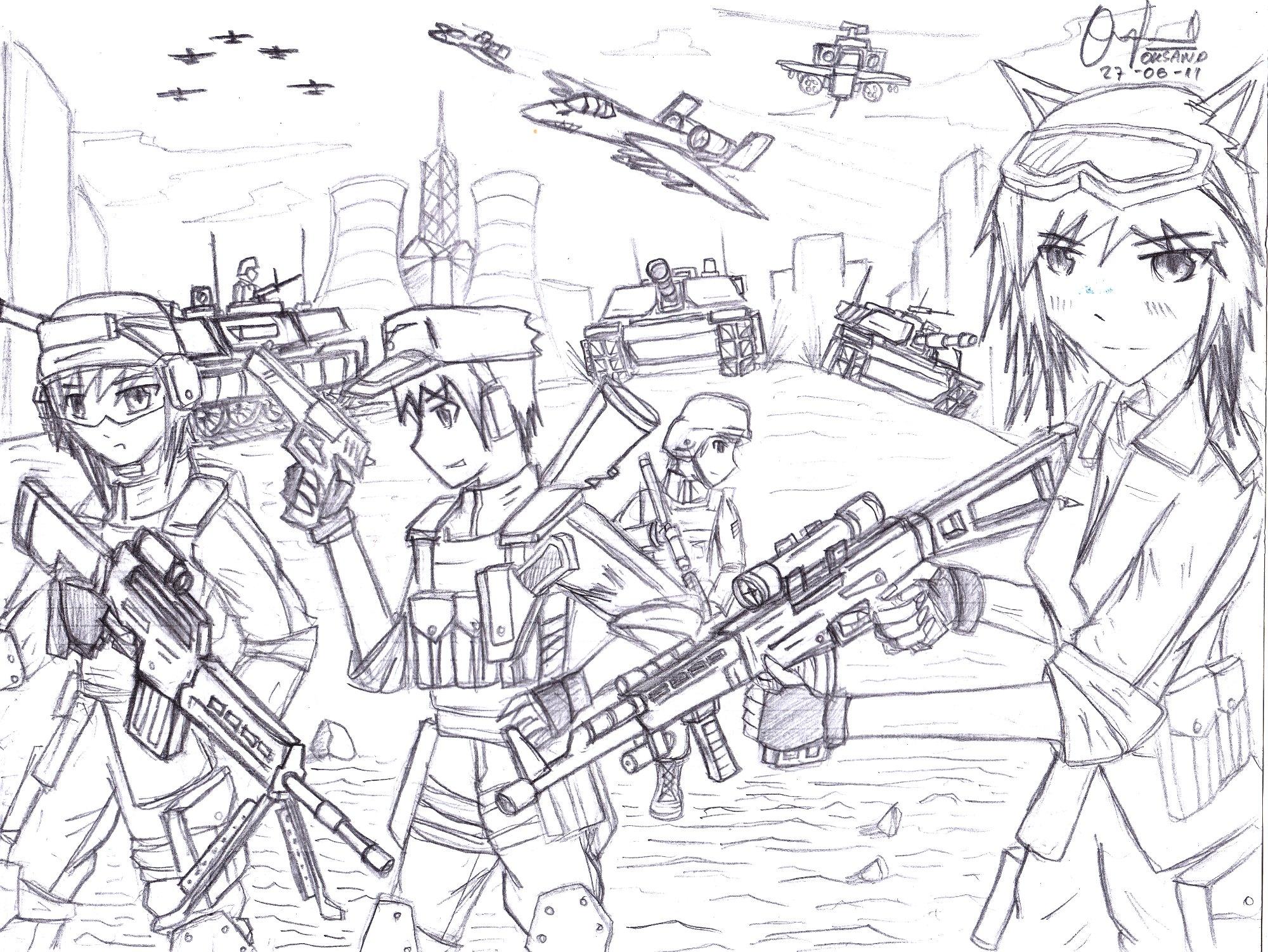 Schutzer Company by PanzerElites