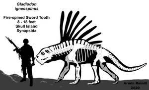 Skull Island: Gladiodon Skeletal