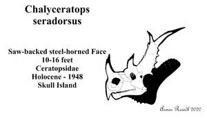 The World of Kong: Chalyceratops