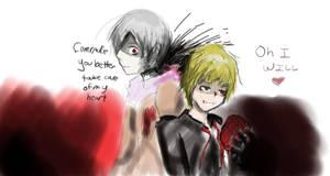 Arthur and Ivan by kaya-motsuwa
