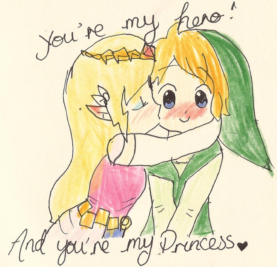 You're my hero! by Princess-Zellie