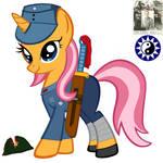 MLP:FIM WW2 China Battlefield NRA59A Warrior