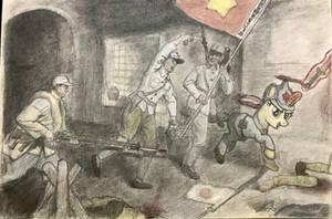 MLP:FIM WW2 China Northeast Battlefield Warriors by zkQ1021