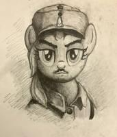 MLP:FIM WW2 China Northeast Battlefield Hero by zkQ1021