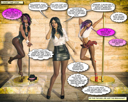 Mercy Meets Dynamo Girl By Delilahtg