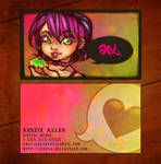 You Heard Her -- business card