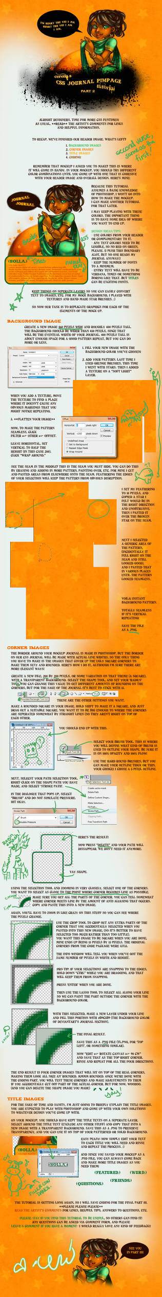CSS Journal Tutorial - Part II