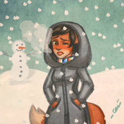 012116snowy by cerena