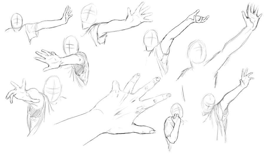 Arm + Hand Study by KlakKlak