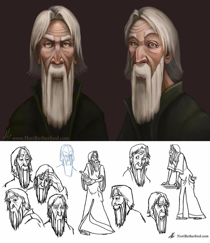 Character Concept: Magnus by KlakKlak