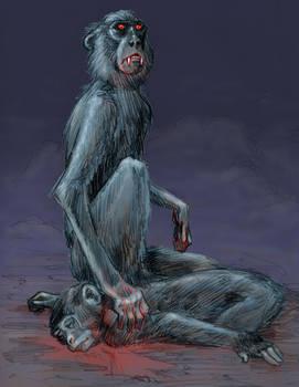 Vampire monkey