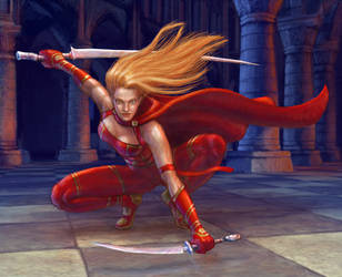 Blade Mistress by N-Mel