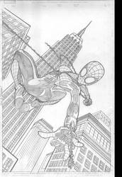 spidergirl by EdMcGuinness