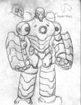 ironman mech design