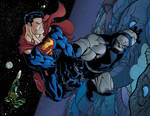 superman and darksied